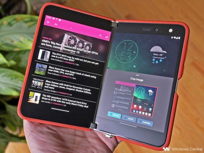Surface Duo Screenshottool