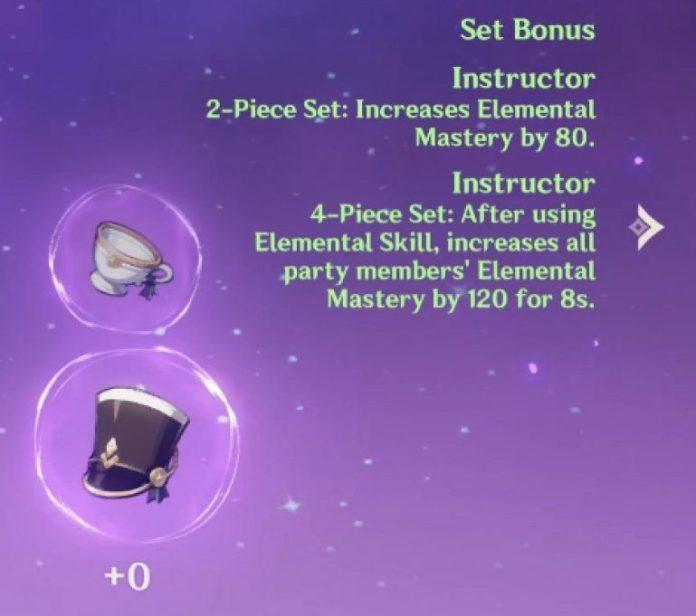 Genshin Impact Venti Guide Instructor's Set
