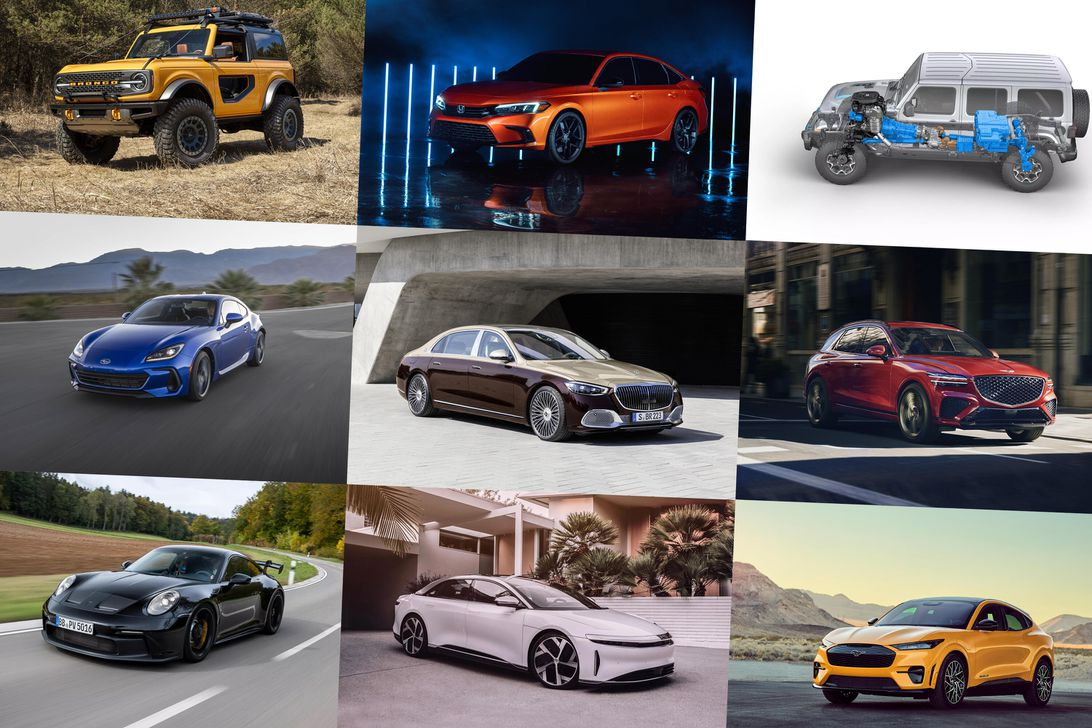 Cars we're most looking forward to 2021