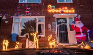 A home in Manchester where the Christmas lights will stay on