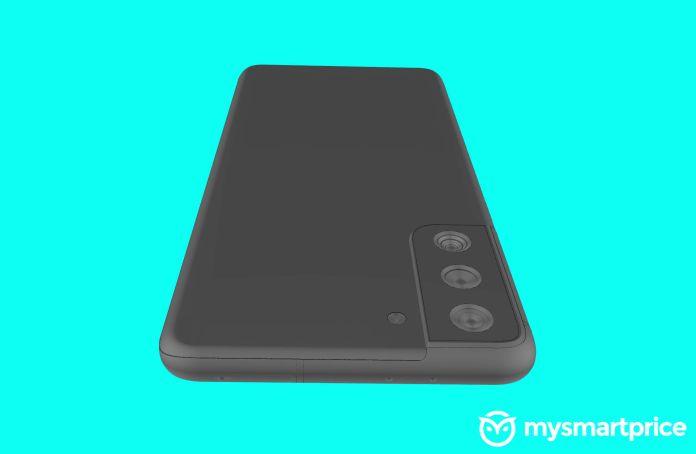 Samsung Galaxy S21 S30 Plus top back perspective render leak MySmartPrice