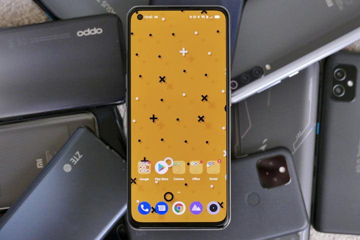 Realme GT screen