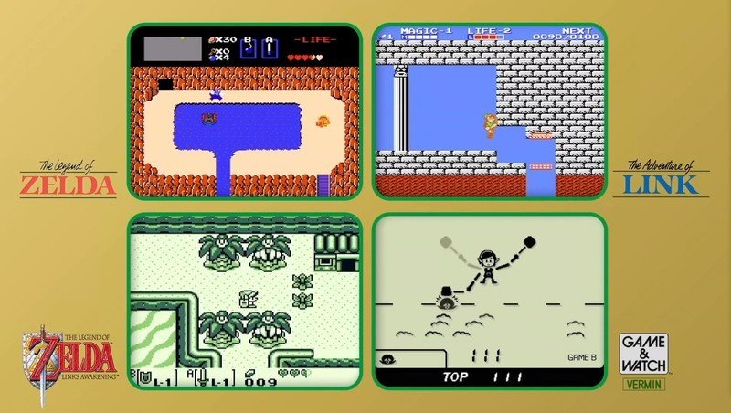 Games On Zelda Game And Watch