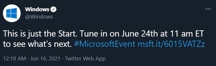 Windows 11 new teaser