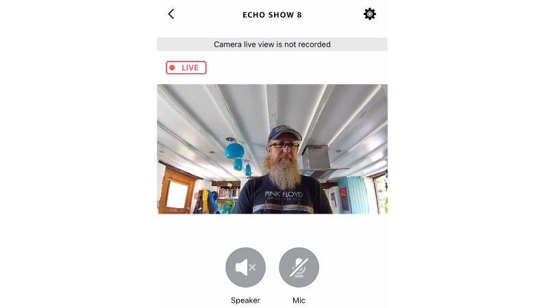 Amazon Echo Show 8: Video Monitoring