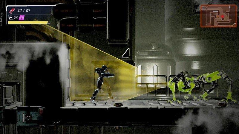 Metroid Dread Cloaking