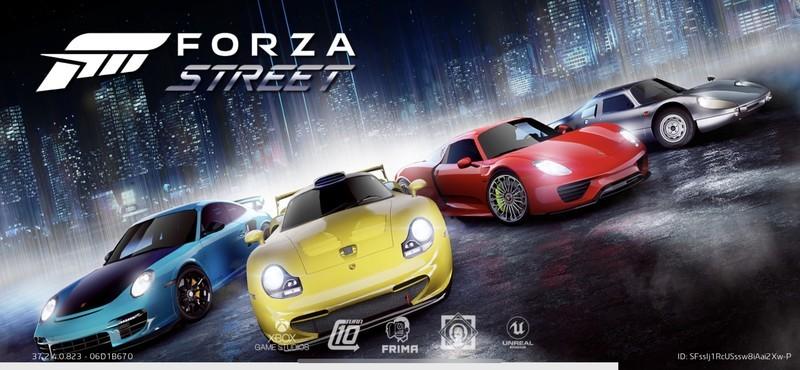 Forza Street Title Screen