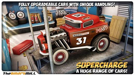 Mini Motor Racing promo screen