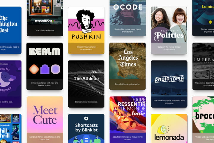 Apple Podcasts subscription channels.