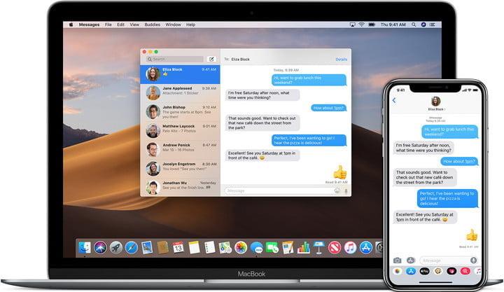 iMessage on Mac