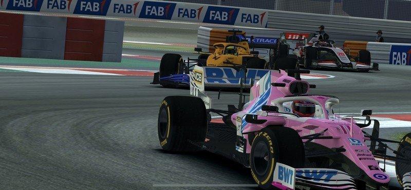 Real Racing Three Race Screenshot