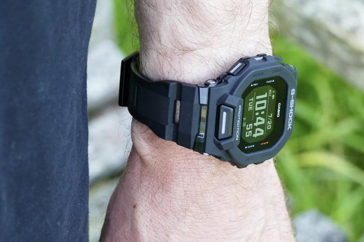 Casio G-Shock GBD-200 on a wrist.