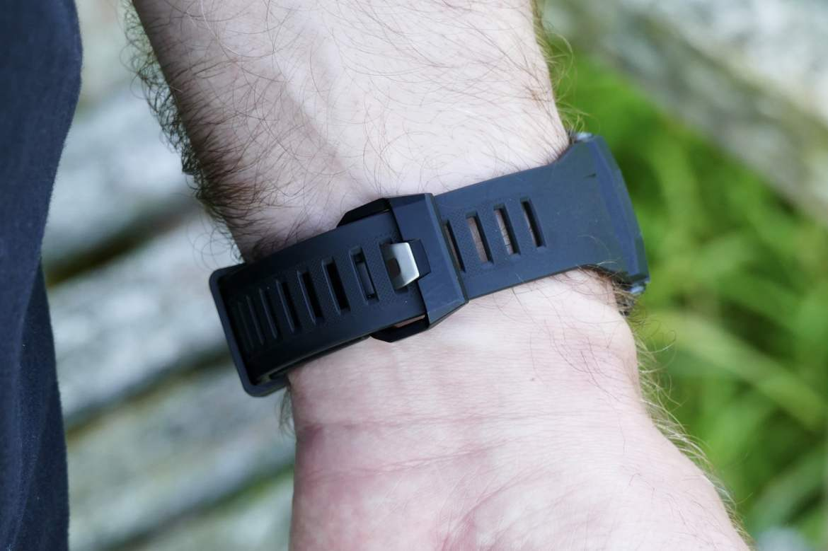 The strap on the Casio G-Shock GBD-200.