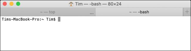 Mac Terminal (Blank)