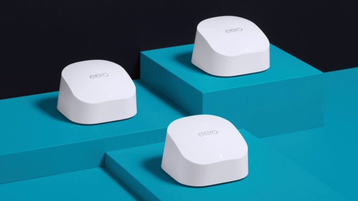The Eero mesh network can help cover your home in Wi-Fi