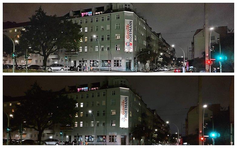 Motorola Edge 20 night mode