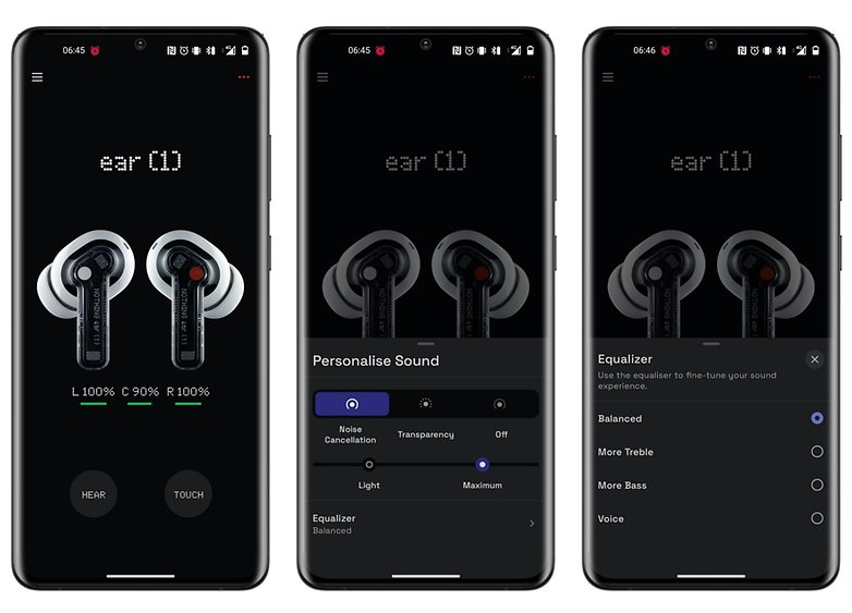 nothing ear 1 review app 1