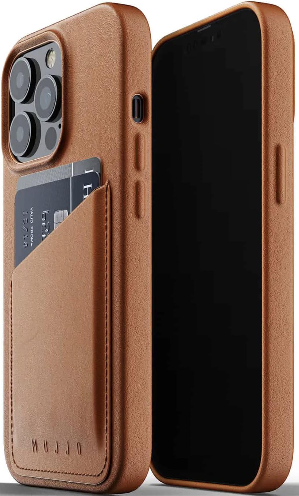 Mujjo Leather Wallet Case Iphone 13 Pro