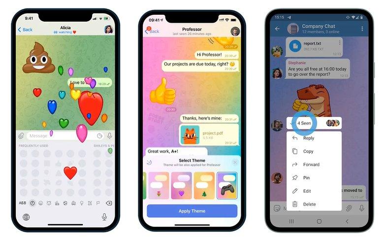 Telegram Update 801