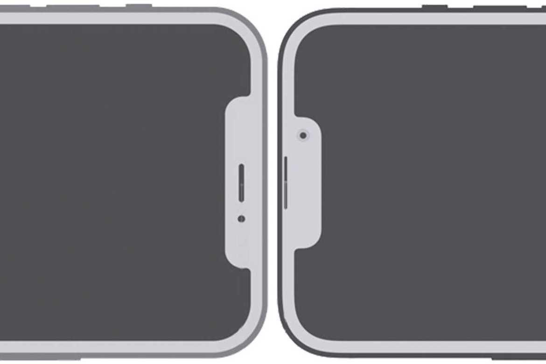 iPhone 13 notch size