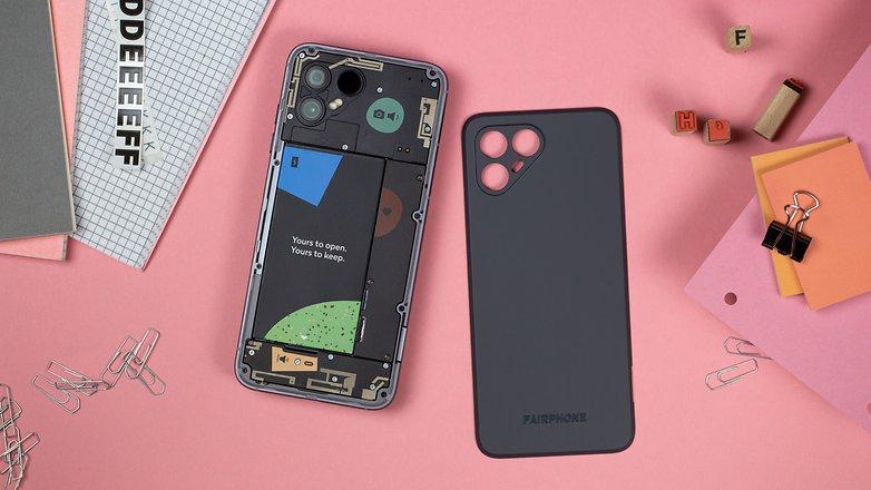 NextPit Fairphone 4 battery