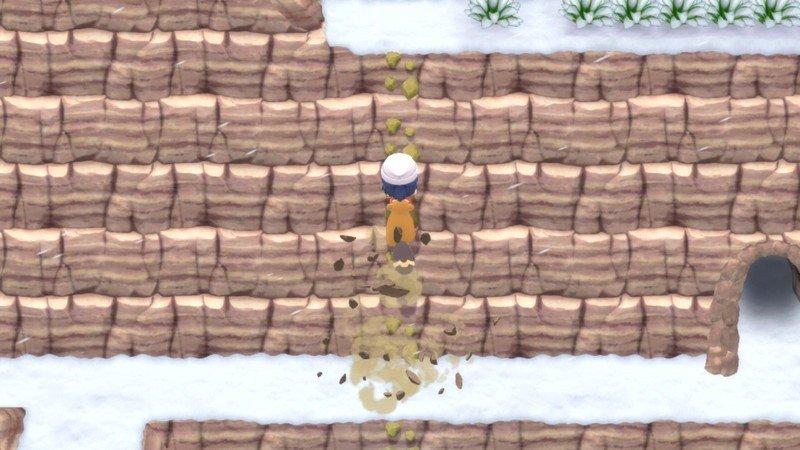 Pokemon Brilliant Diamond Shining Pearl Bidoof Climb