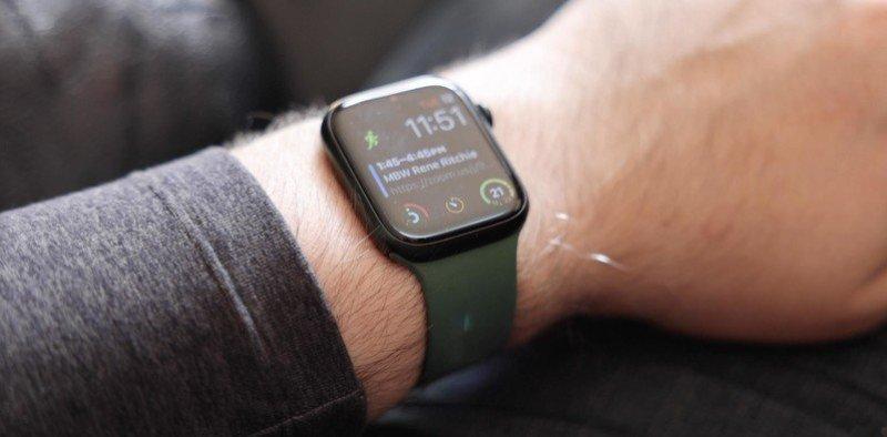 Apple Watch Series 7 Always On