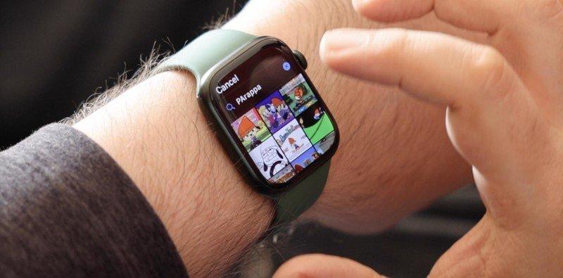 Apple Watch Series 7 Gif