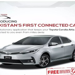 New Corolla Altis Grande Cara Reset Ecu Grand Avanza Pakistan S First Connected Car Toyota Phoneworld