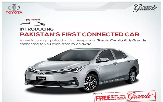 new corolla altis grande grand avanza vs ertiga pakistan s first connected car toyota phoneworld