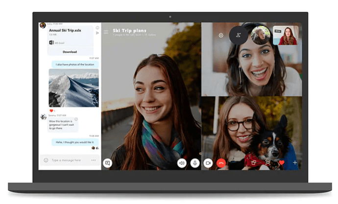 Soon You Can Enjoy Skype Group Video Call For Up to 50 Participants