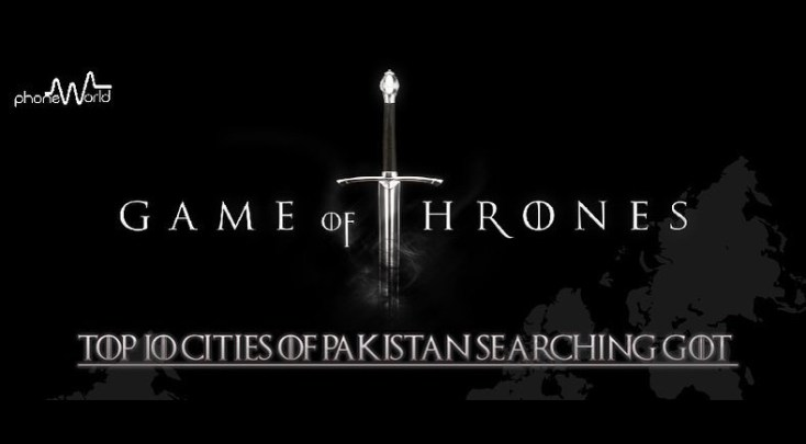 Peshawar Bests the List for Game of Thrones Related Queries in Pakistan: Google Trends