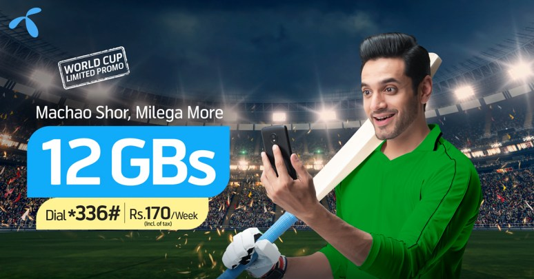 Exciting Telenor 4G