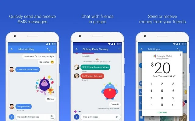 New Google Chat- An Android Version Of iMessage