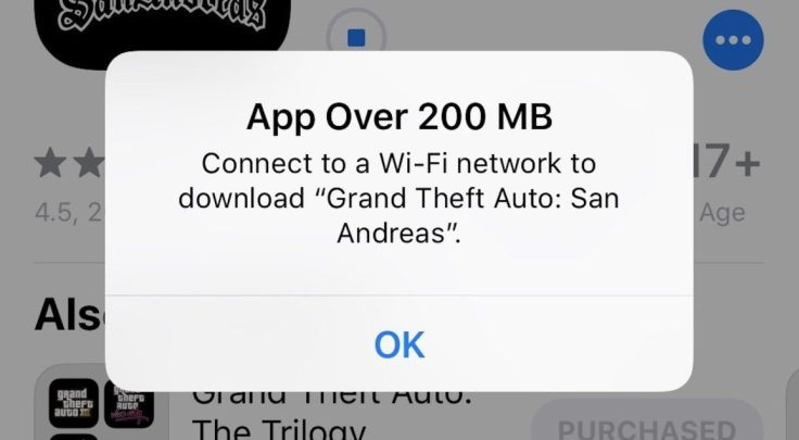 Apple Raised Cellular <b>Download</b> Bar To 200 MB-Still A Disappointment