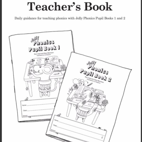Jolly Phonics Teacher's Book (black & white edition
