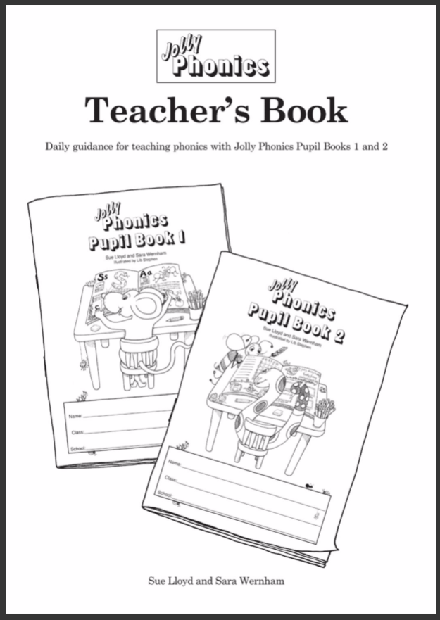 Jolly Phonics Teacher's Book (black & white edition