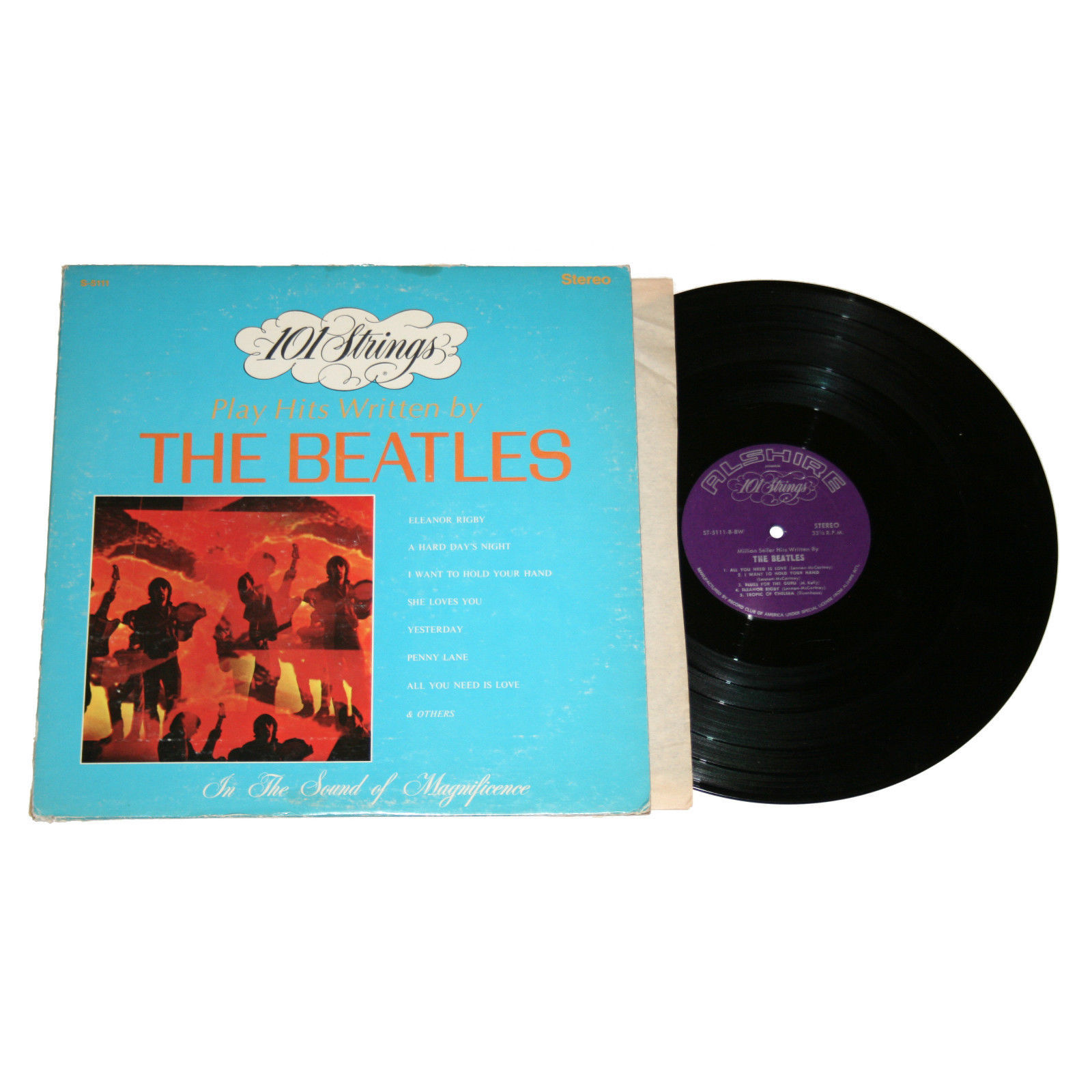 101 Strings Play Hits Written by The Beatles, released in January 1981, marked the final 101 Strings effort.