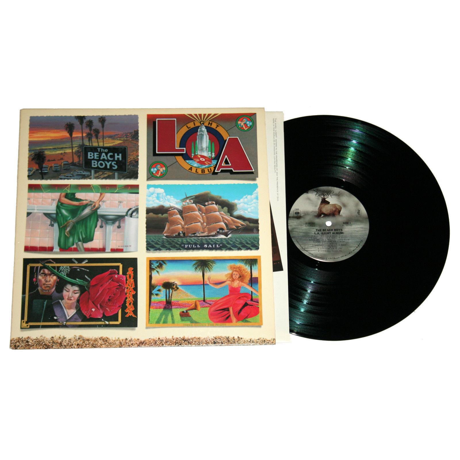 The Beach Boys - Light Album on Vinyl
