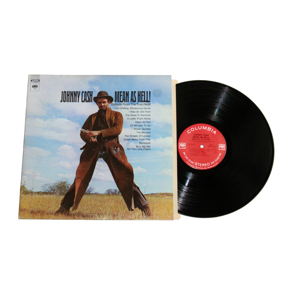Johnny Cash - Mean As Hell! Album
