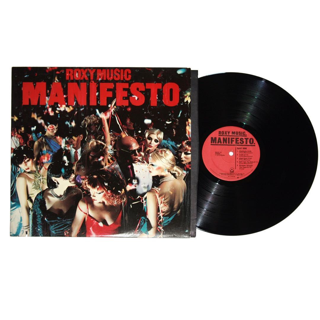 Roxy Music - Manifesto Vinyl