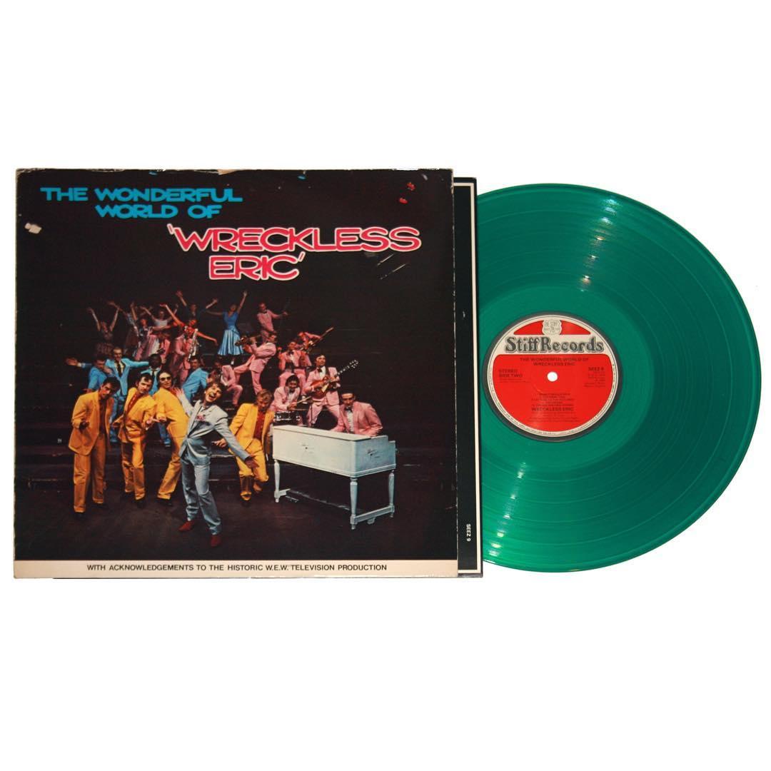 The Wonderful World of Wreckless Eric Vinyl
