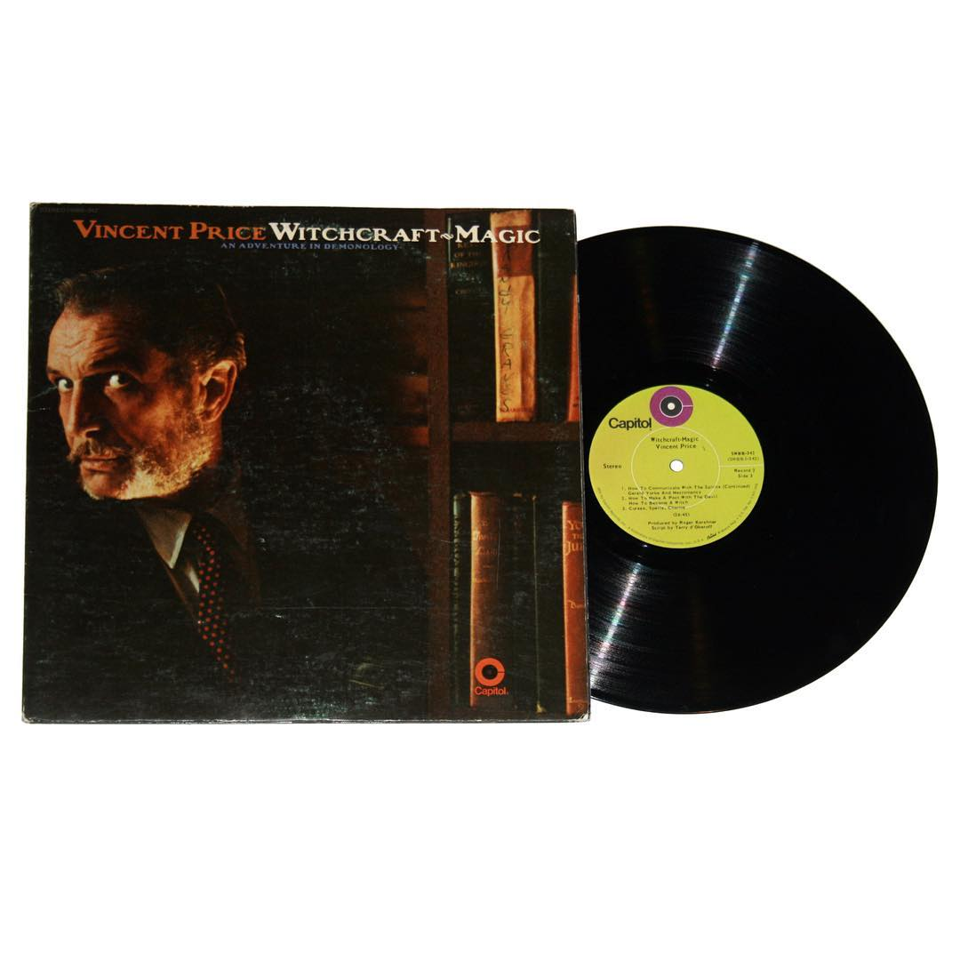Vincent Price - Witchcraft | Magic: An Adventure In Demonology Album