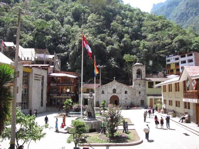 3 augustus 2011 Cusco – Aguas Calientes (2410m)