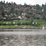 "11 juli 2012 Rättvik – Ōstersund –  63°10'46""N 14° 38'10O"