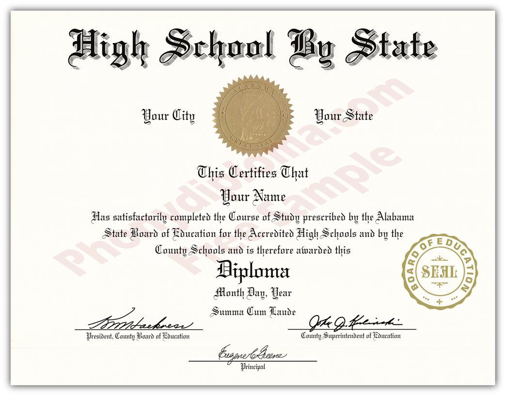 diploma template microsoft word