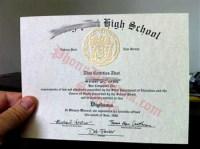 Ontario High School Diploma Template - school resume x ...