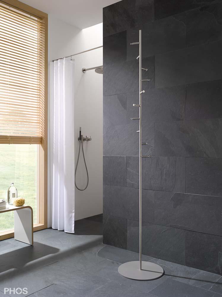 Handtuchhalter und Handtuchhaken in zeitlosem Edelstahl Design