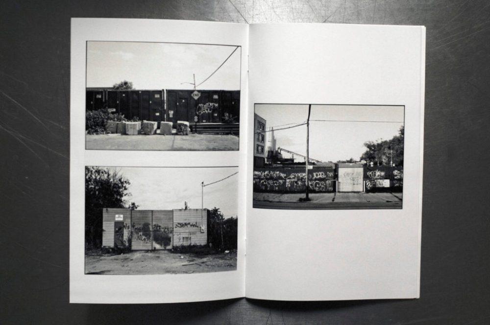 "© Brandon Fonville, 36pages, b/w laser, 5.5"" x 8.5"", staple bound, New York"