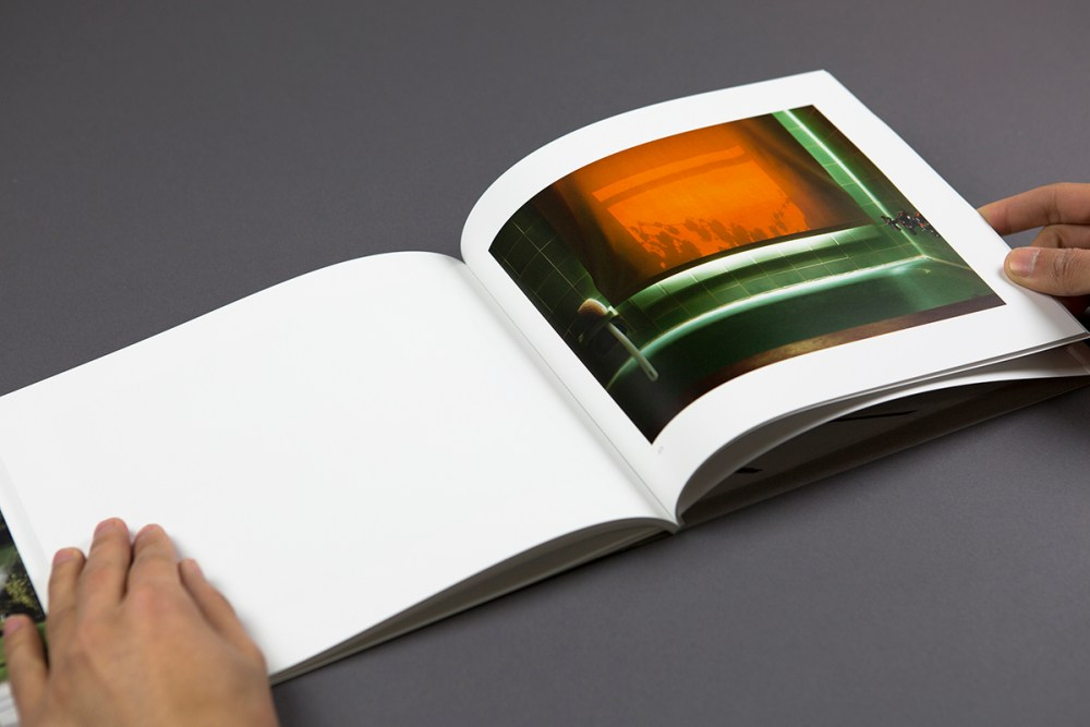 """© Rebecca Sittler, 9.5x8"""", 60 pages, perfect bound, design by Anastasiia Palamarchuk, essay by Francesca Romeo, edition of 100, 2014"""